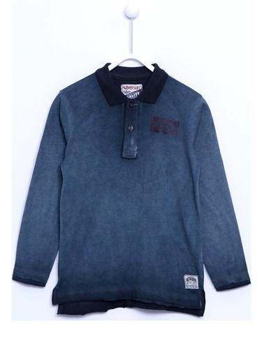 Silversun Kids Baskılı Uzun Kollu Örme Tişört Bk 310530 Antrasit